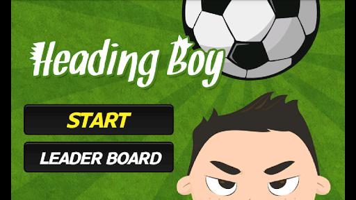 Heading Boy