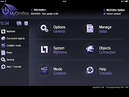 MyOmBox - MyHome automation- screenshot thumbnail
