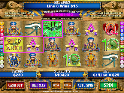 Egypt Reels of Luxor Slots Pyramid Of Jewels FREE- screenshot thumbnail