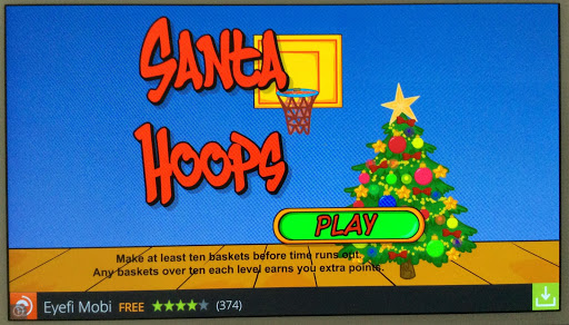 Santa Hoops Basketball