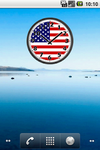 USA Clock- screenshot thumbnail