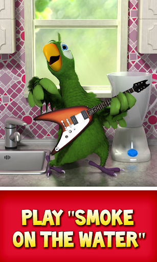 Talking Pierre the Parrot 3.4 screenshots 1