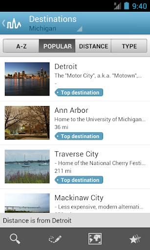 Michigan Guide by Triposo