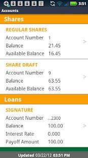 Pikes Peak Credit Union Mobile - screenshot thumbnail