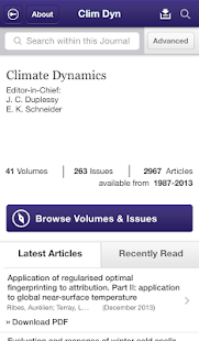 Climate Dynamics- screenshot thumbnail
