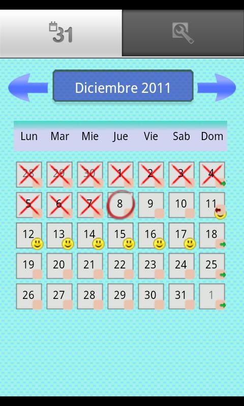 contraceptive patch - screenshot