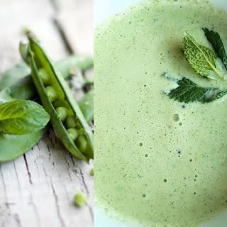 Pea and Mint Cream