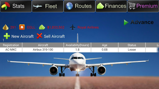 Airline Boss - Management Game