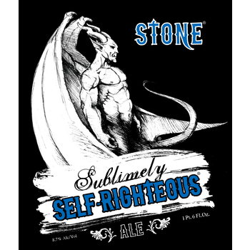 Logo of Stone Sublimely Self-Righteous Black IPA