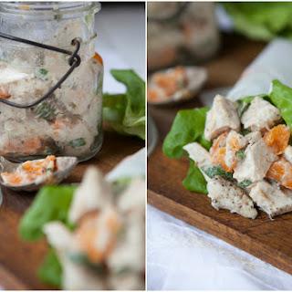 Apricot Chicken Salad (Mayo/Egg-Free)