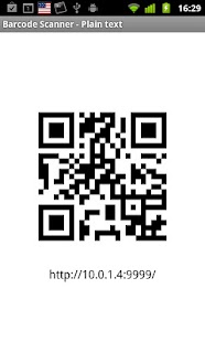 Share via HTTP - File Transfer- screenshot thumbnail
