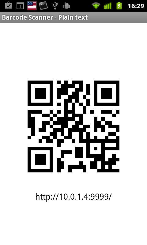 Share via HTTP - File Transfer- screenshot