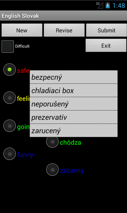 English Slovakian Tutor- screenshot