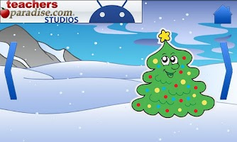 Screenshot of Christmas Games Shape Puzzles
