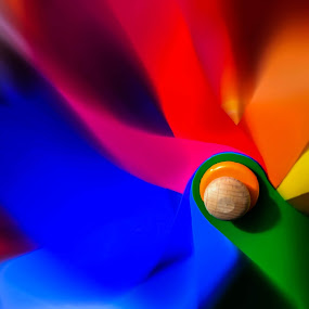 Blurred windmill by Orkidea W. - Artistic Objects Toys ( orkidea, colors, blur, photography, windmill,  )