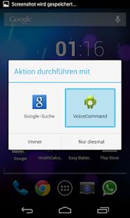 Voice Command - screenshot thumbnail