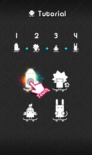 【免費解謎App】A03 Nine Touch(순서 맞추기)-APP點子