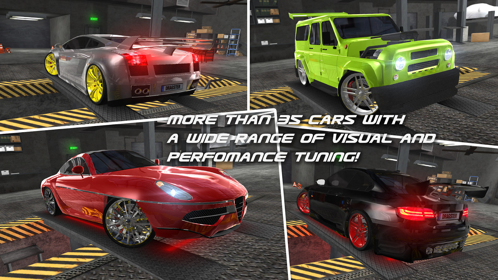 Drag Racing 3D- screenshot
