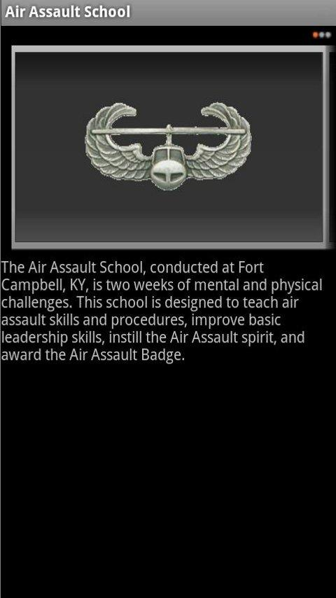 Univ of MD Army ROTC - screenshot