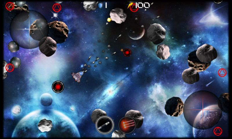 Asteroid Wars - screenshot