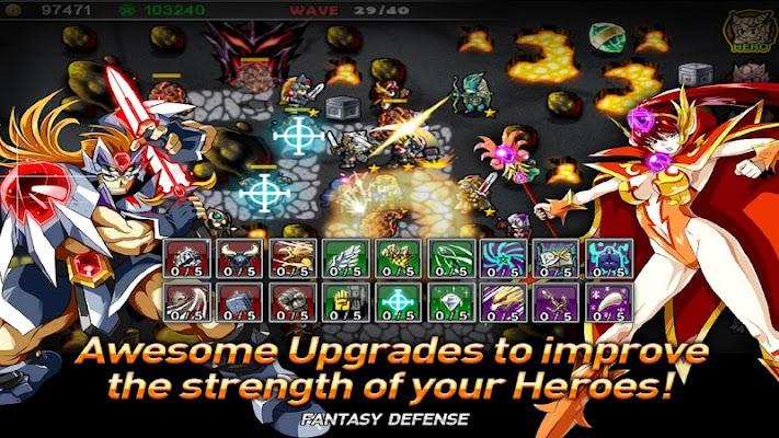 Fantasy Defense 2 v1.0.3.KG (Mod Money)