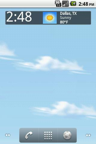 Live Weather LWP! - screenshot