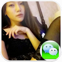 微信微博美女圈 icon