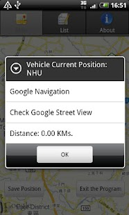 Car Finder and location notes - screenshot thumbnail