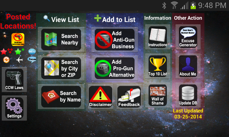 Posted! - Carry List Anti-Gun- screenshot