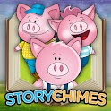 StoryChimes Three Little Pigs logo