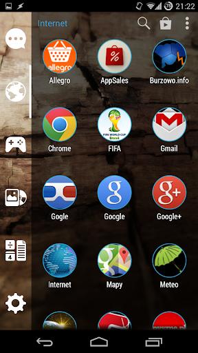 免費個人化App|Zoomed Blue Circle|阿達玩APP