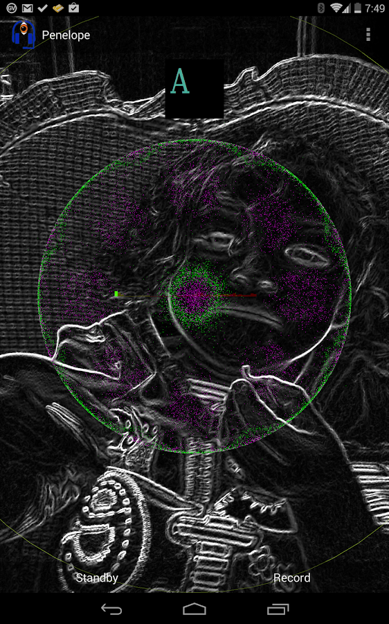 Penelope RT Audio Processor- screenshot