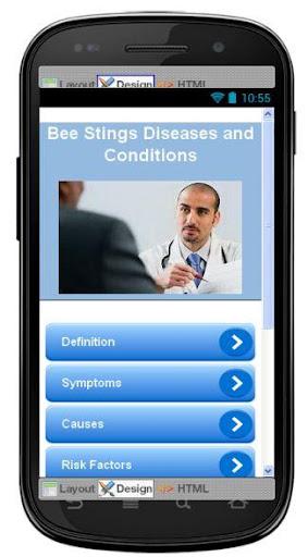 Bee Stings Disease Symptoms