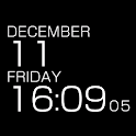 LiveWallpaper Clock BLACK logo