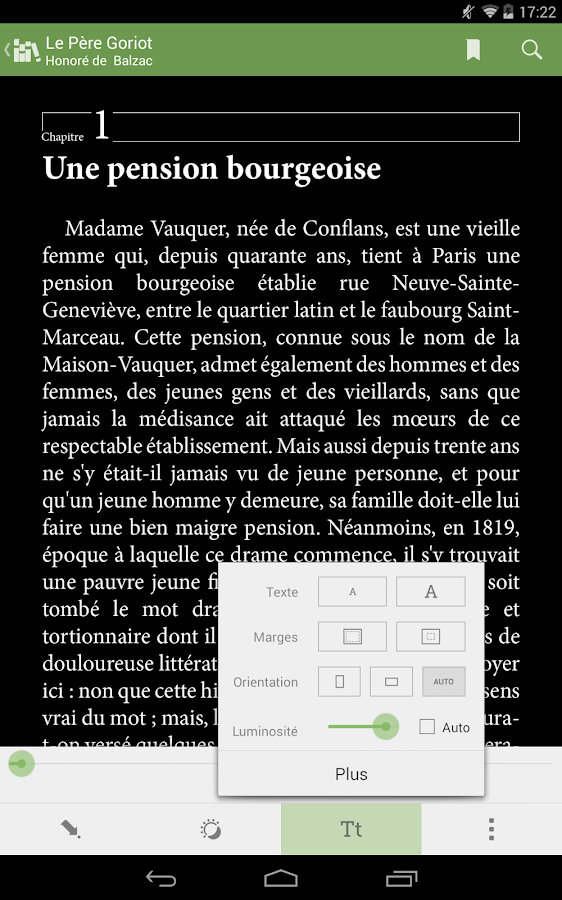 Aldiko Book Reader – Capture d'écran