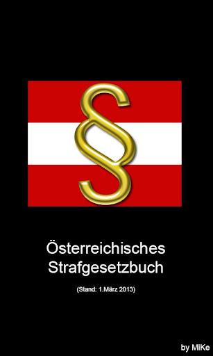 Strafgesetzbuch Österreich Pro