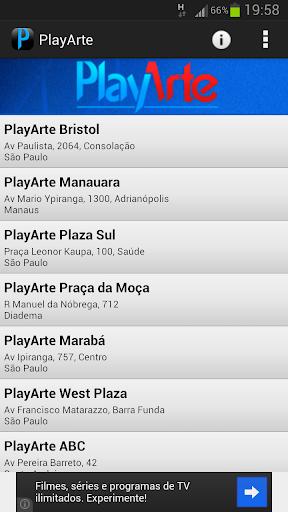 PlayArte Programação