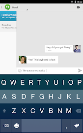 Fleksy Keyboard Screenshot 8