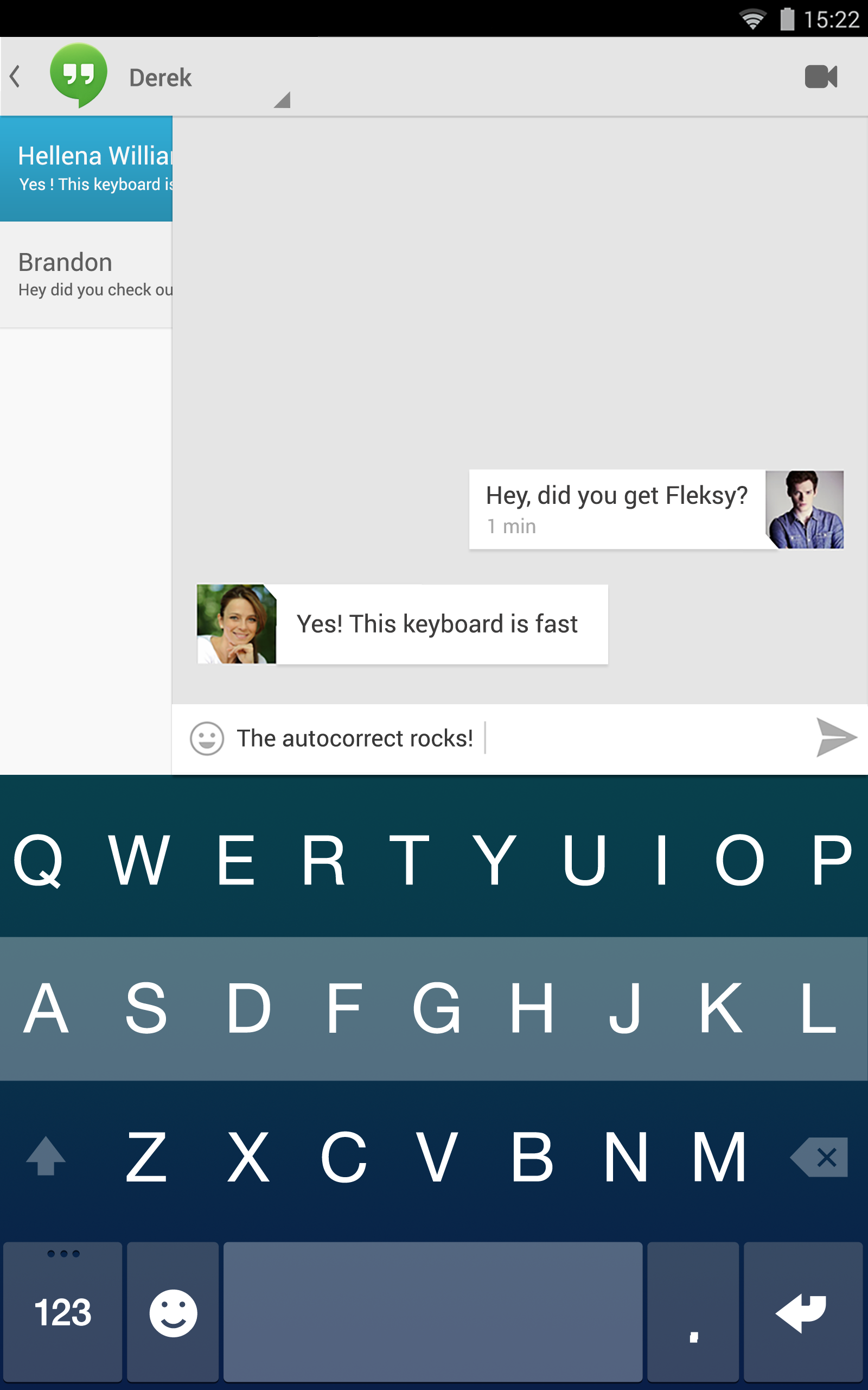 Fleksy + GIF Keyboard screenshot #16