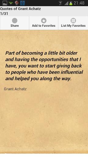 Quotes of Grant Achatz