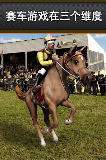 最好马赛车免费 - 的仿真马术比赛骑马游戏