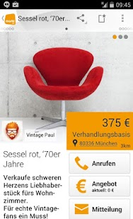 Kleinanzeigen und Flohmarkt - screenshot thumbnail