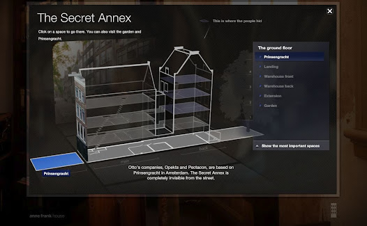 The secret annex online 3d tour software
