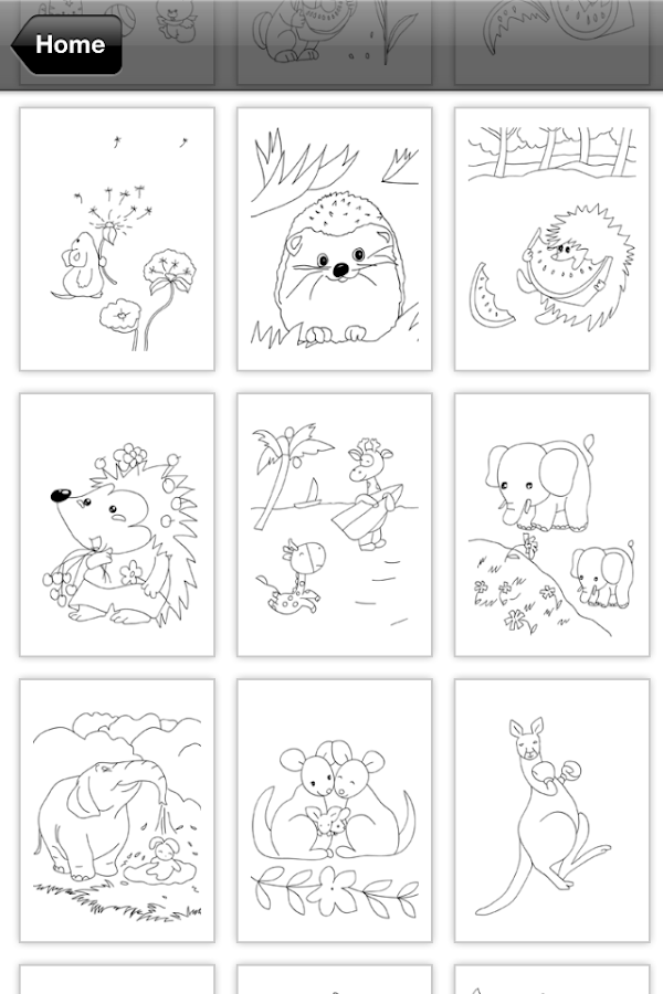 Coloring Book for Kids: Animal - Android Apps on Google Play