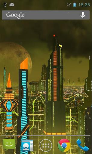 Scifi Galactic Live Wallpaper