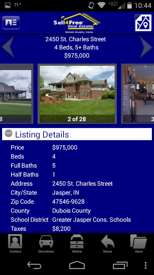 Sell 4 Free Welsh Realty Corp. - screenshot