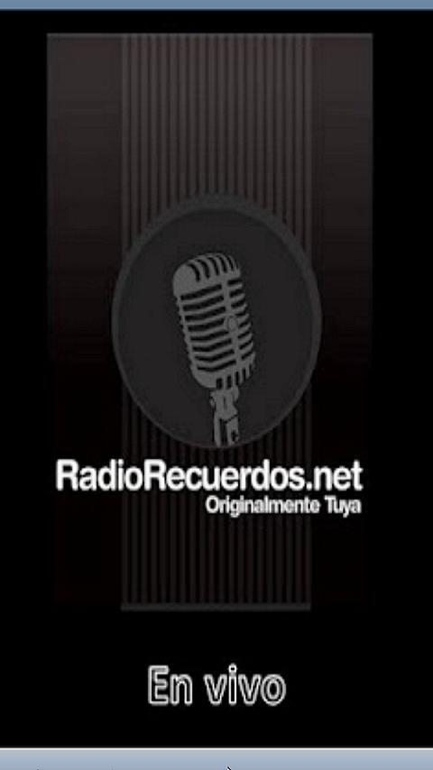 Radio Recuerdos - screenshot