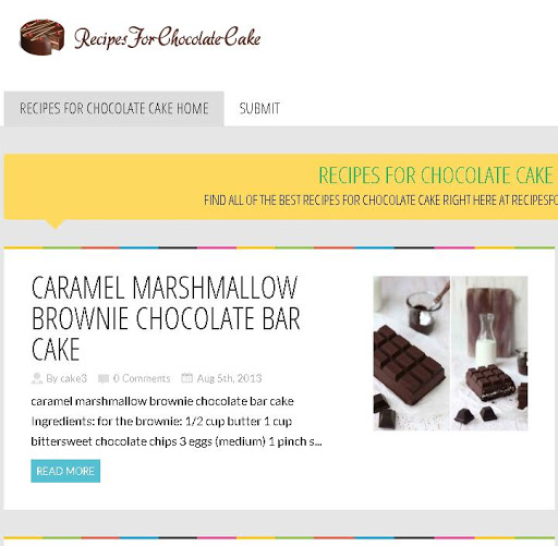 Best Chocolate Cake Recipe App
