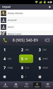 osmino: contact manager - screenshot thumbnail