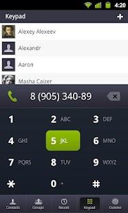 osmino: contact manager- screenshot thumbnail